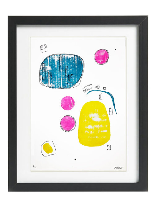 A3 Limited Edition Bold Print