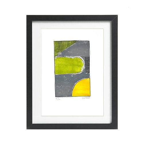 A5 Limited Edition Lino Print