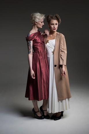Image Credits: Photographer: Catherine Dineley. Stylist & Hair: Rachel Heeley. MUA: Megan Plummer. Model: Sarah Pearse & Shakira Monamour. Dress: Betty Smithers Collection.