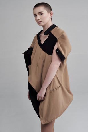 Image Credits: Designer: Ahmet Kara Photographer:Catherine Dineley  Stylist:Rachel Heeley MUA:Meg Plummer Model: Jalen Taylor