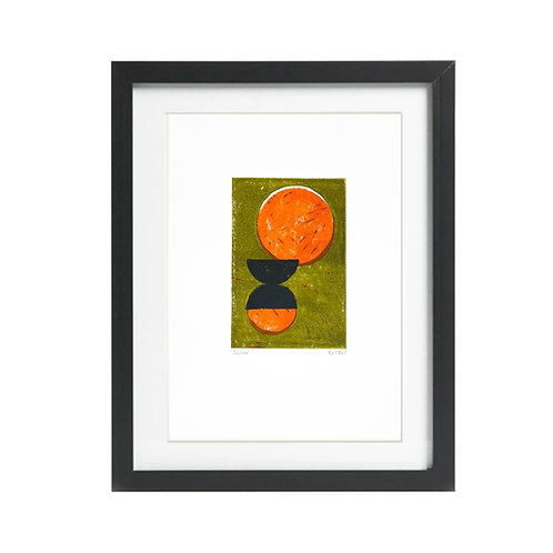 A4 Solar Lino Print