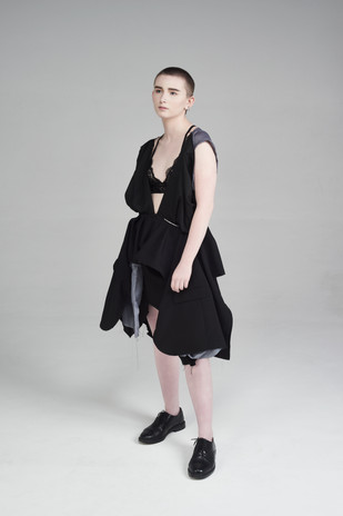 Image Credits: Designer: Shannon Kenny Photographer:Catherine Dineley  Stylist:Rachel Heeley MUA:Meg Plummer Model: Jalen Taylor