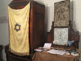 A Synagogue Held Up By History