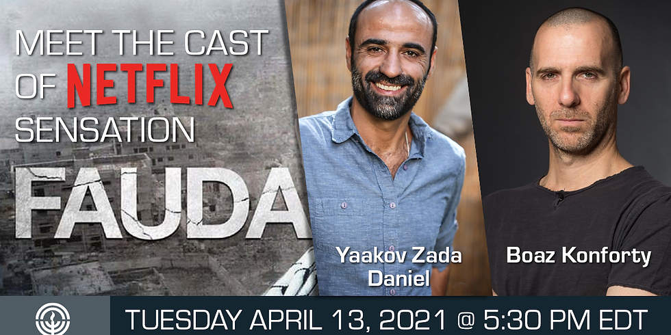 """Meet """"Fauda"""" cast-members!"""