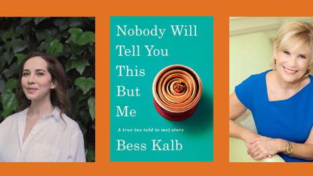 Author Bess Kalb in Conversation