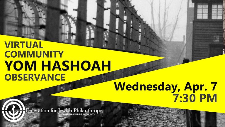 Virtual Community Yom HaShoah Observance