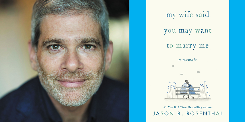 Behind the Pages: Jason B. Rosenthal