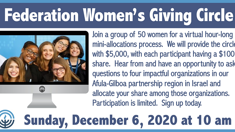Federation Women's Giving Circle