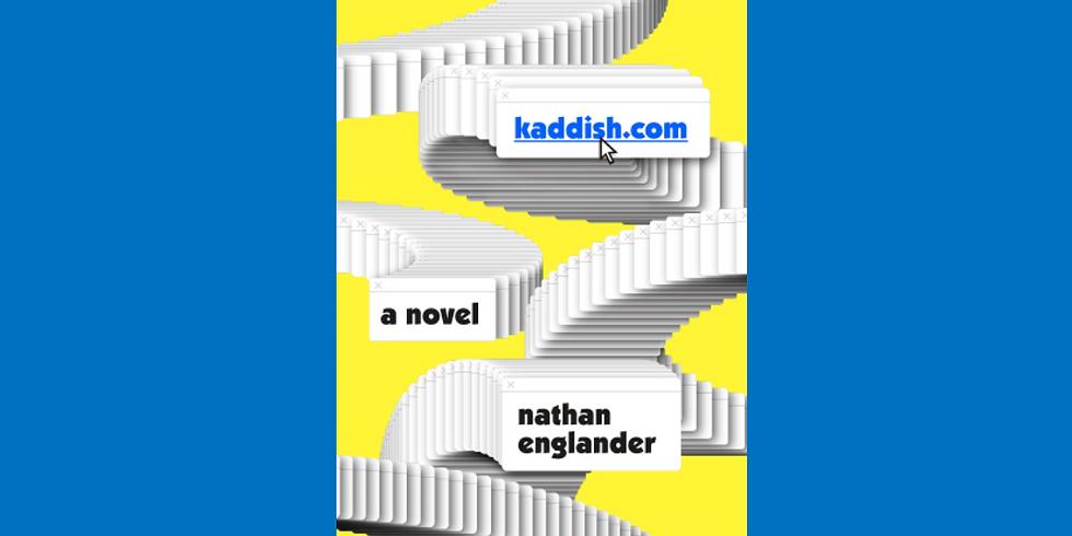"Book discussion: ""kaddish.com"""