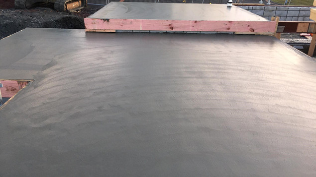 commercial floor slab
