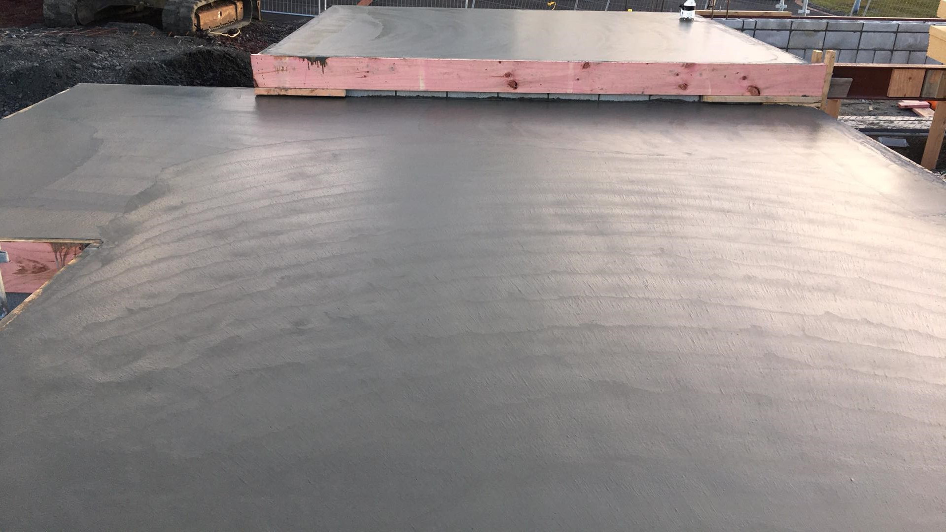 commercial floor slab