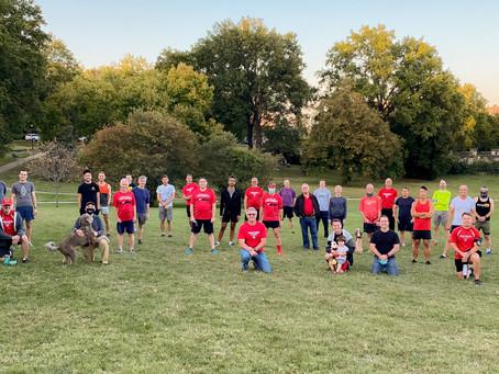 KC Frontrunners & Walkers Return to Loose Park 3/17/21!
