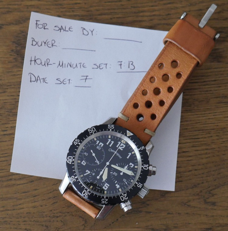 A Chronosport Guinand in a Tagged Picture