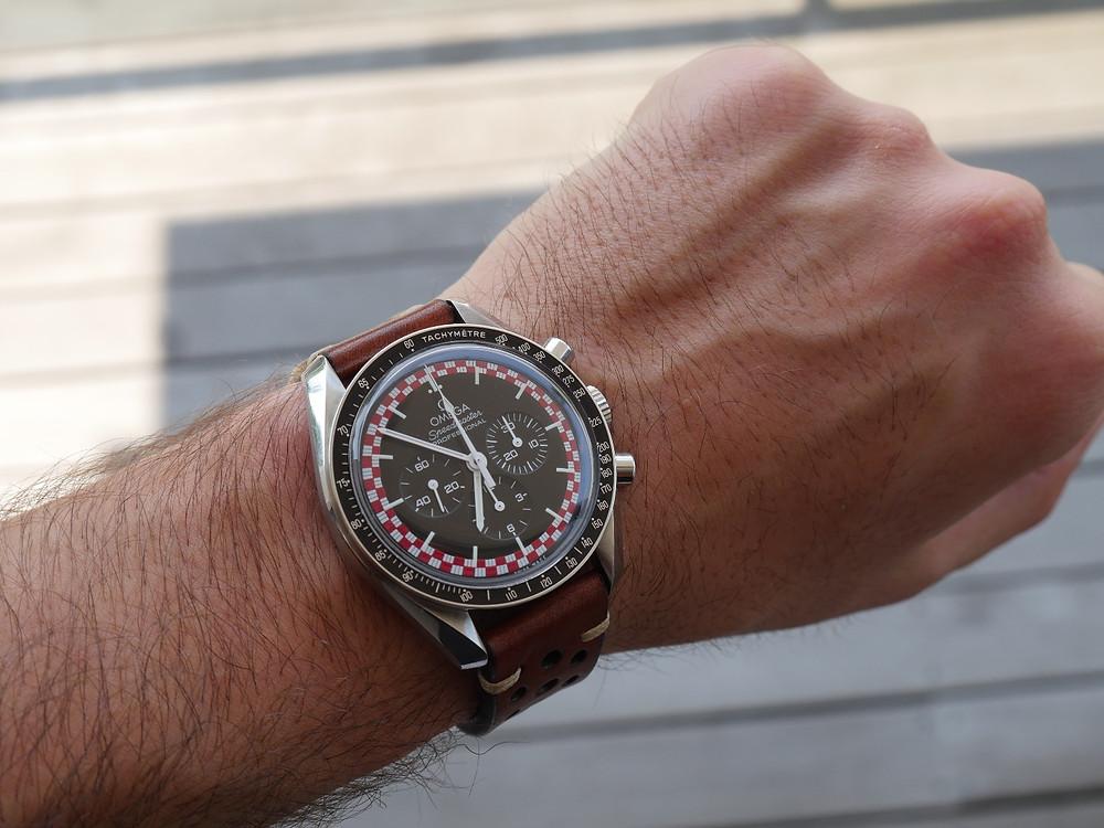 A TinTin wrist shot