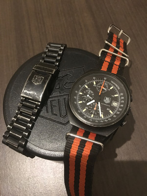 Tag Heuer 510.501/12. A watch designed for racers and worn by pilots!