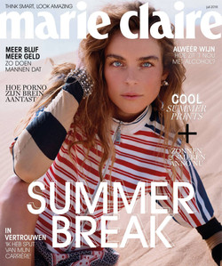 Kim Noorda by Mel Karch for Marie Claire