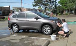 Car Wash at Auto Zone