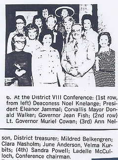 1975 District VIII Conference hosted by