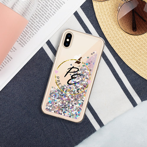 Glitter Girl iPhone Case