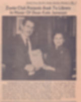 1968 article, Honorary member Kate James