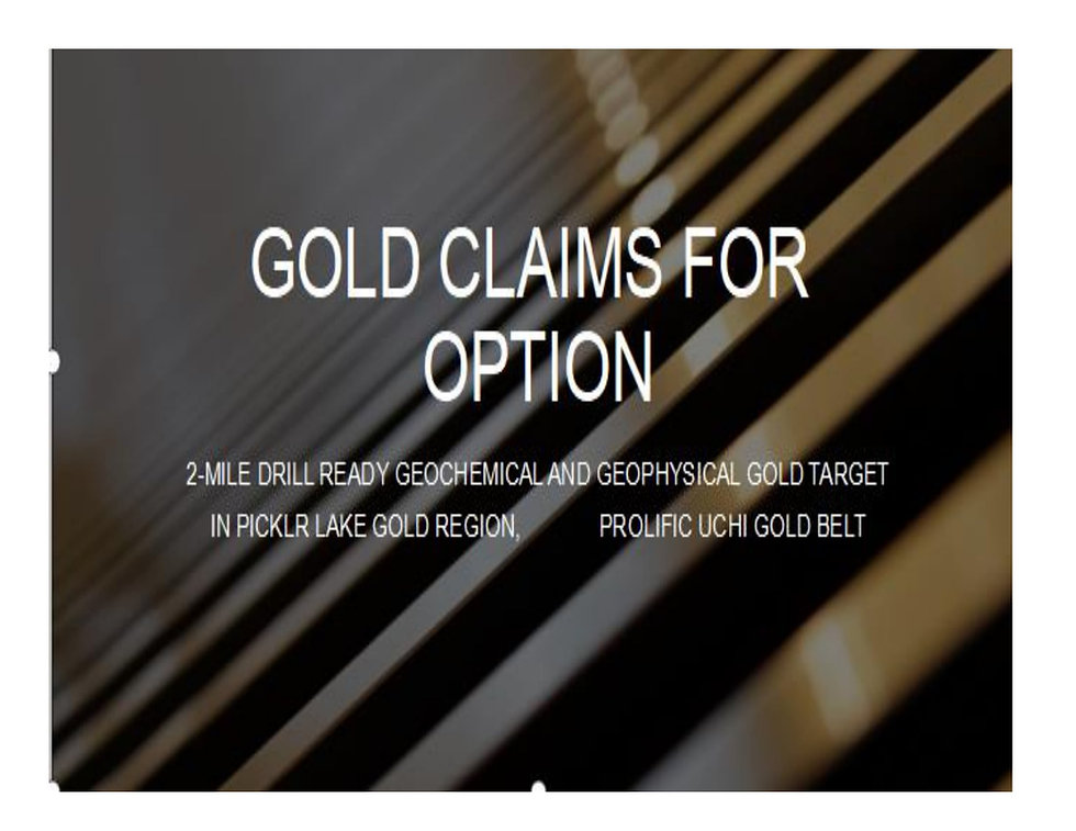 Gold Claims For Option