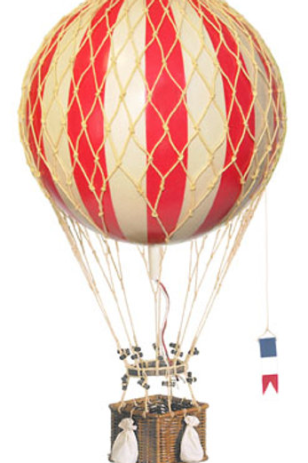 Large Red Hot Air Balloon