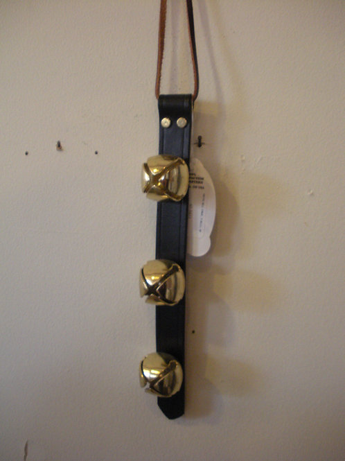 3 Bell Leather Strip - Weaver Bells