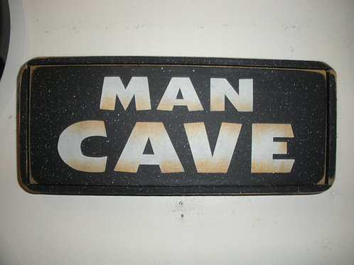 Mini Man Cave - Wooden Signs