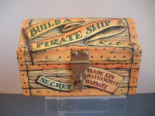 Build Pirate Treasure Chest & Ship - Nautical Toys