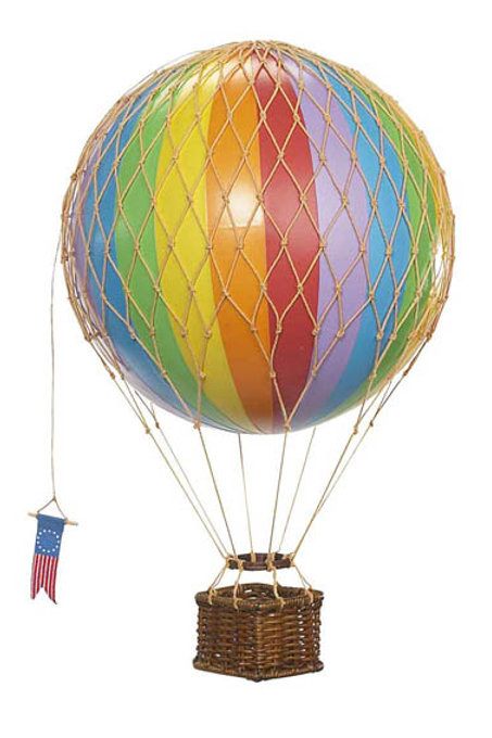 Medium Rainbow Hot Air Balloon