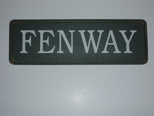 FENWAY - Wooden Signs