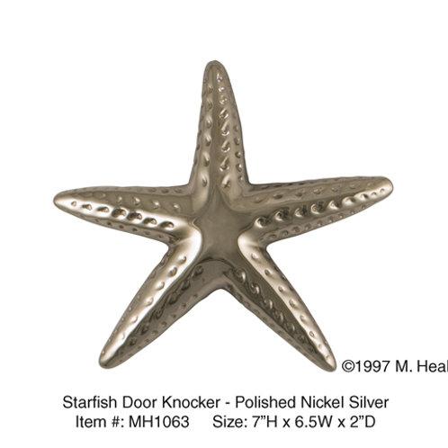 Starfish (Nickel) - Door Knockers