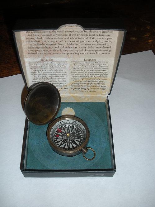 Bronzed Brass Compass - Compasses
