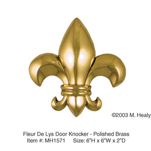 Fleur De Lys - Door Knockers