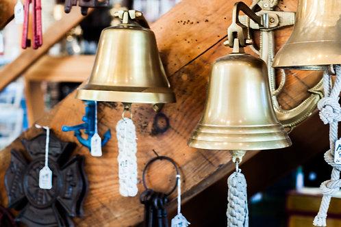 """6"""" Brass Aluminum Bell - Bells"""