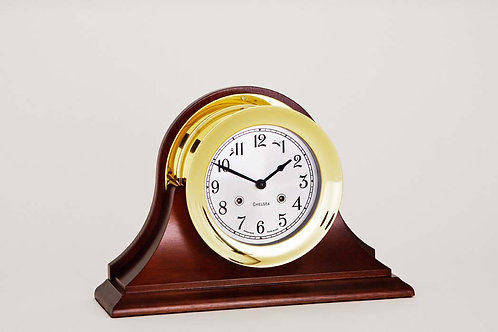 "4.5"" Shipstrike Mechanical Clock - Chelsea Clocks"