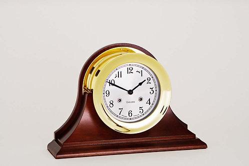 "6"" Shipstrike Mechanical Clock  - Chelsea Clocks"