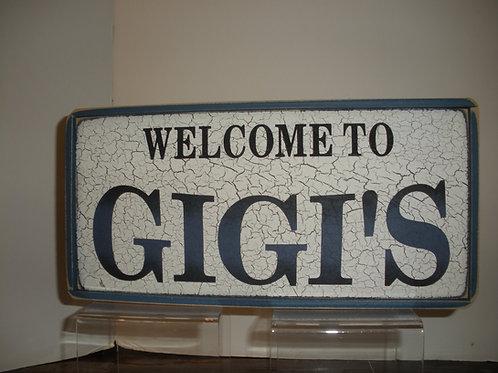 Welcome to GIGI'S