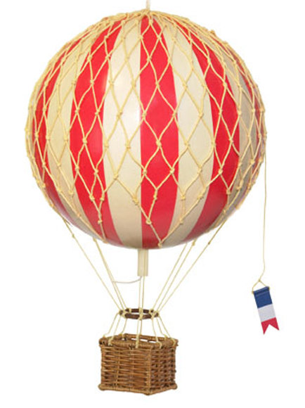 Medium Red Hot Air Balloon