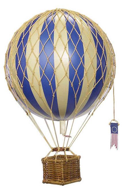 Medium Blue Hot Air Balloon