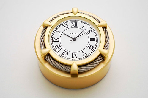 Chelsea Cable Paper Weight Clock - Chelsea Clocks