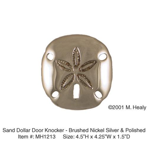 Sand Dollar (Nickel) - Door Knockers