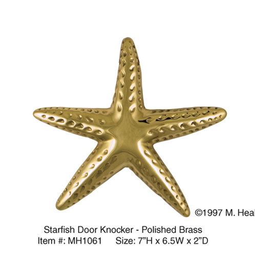 Starfish (Brass) - Door Knockers