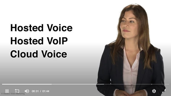 hosted voice, cloud voip