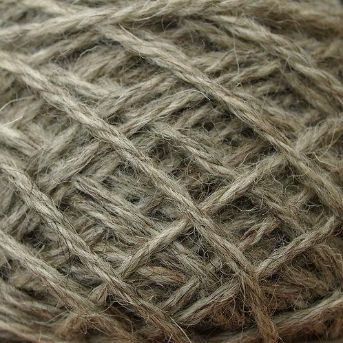 50g Aran yarn Natural/Grey