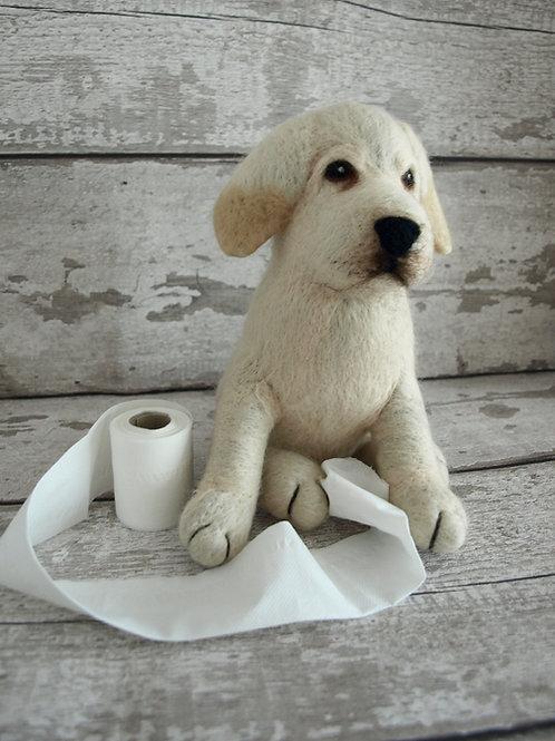 Beau the Labrador Puppy Digital Download Pattern