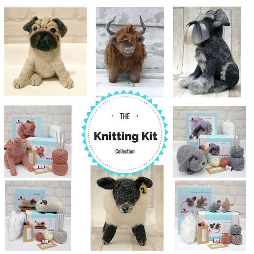 Knitting Kits by Knit2Felt UK