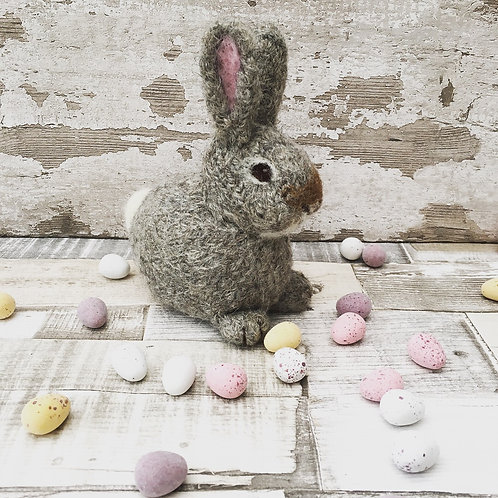 Bluebell the Mini Bunny Knitting and Felting Kit