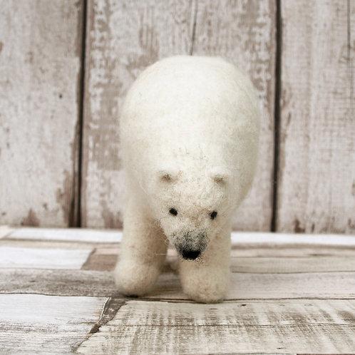 Snowflake the Polar Bear Digital Download Pattern