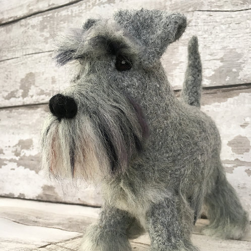 Biscuit the Schnauzer Essentials pack